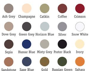 passe-partout paleta kolorów
